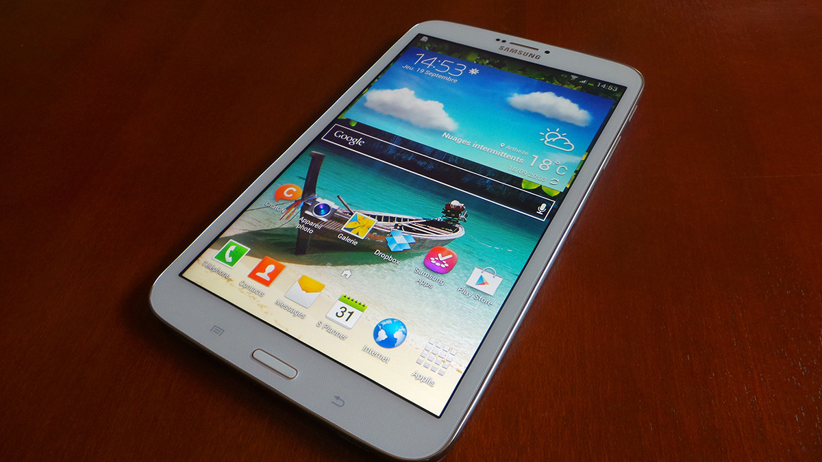 samsung galaxy tab 3 test 8 pouces insert coin. Black Bedroom Furniture Sets. Home Design Ideas