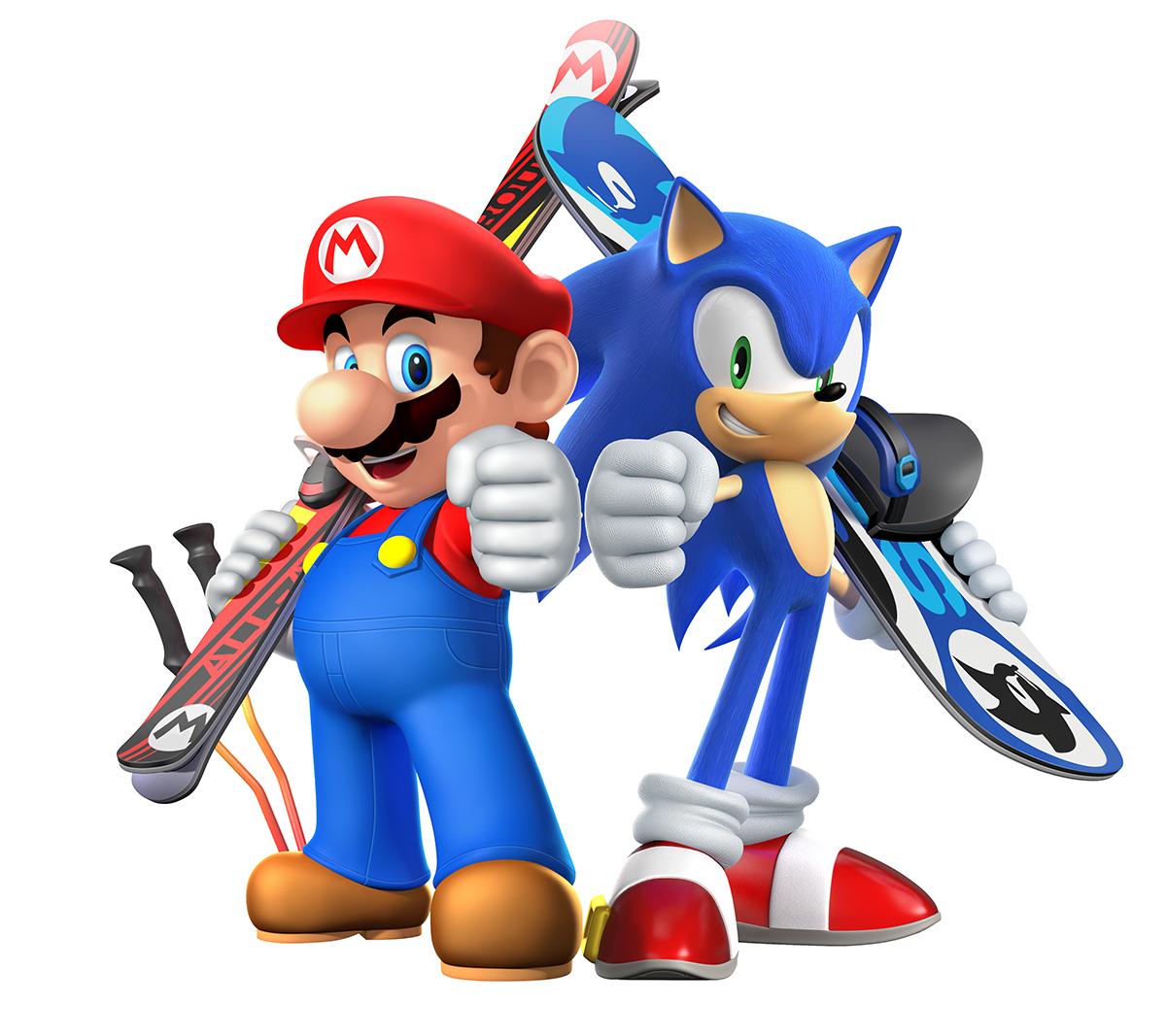Mario Amp Sonic Aux Jo D Hiver De Sotchi 2014 Insert Coin