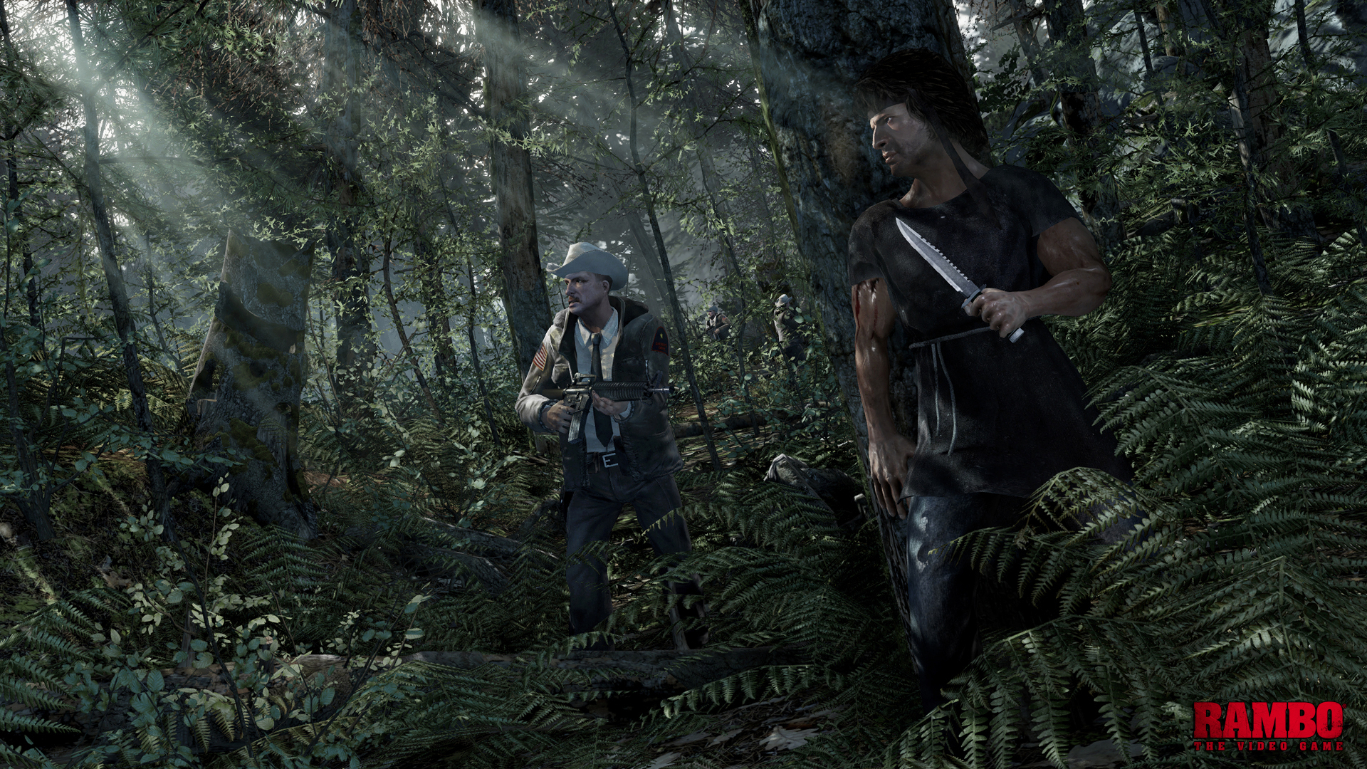 Rambo the Video Game (Test PS3) Forest_Hunt