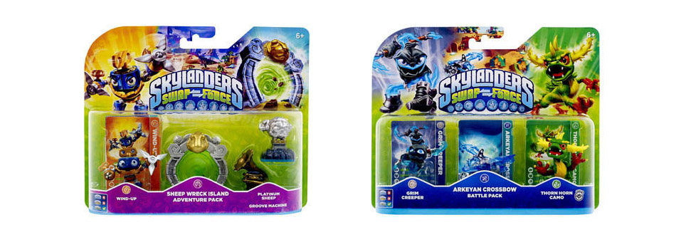 Skylanders swap force nouvelles figurines insert coin - Tous les skylanders ...