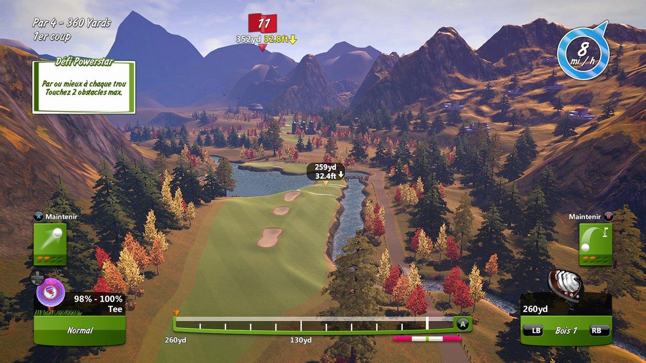 POWERSTAR GOLF ? Test Xbox One