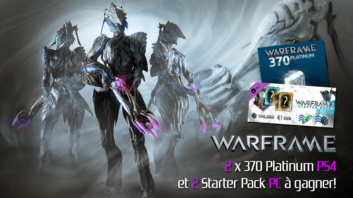 Warframe platinum coupon ps4