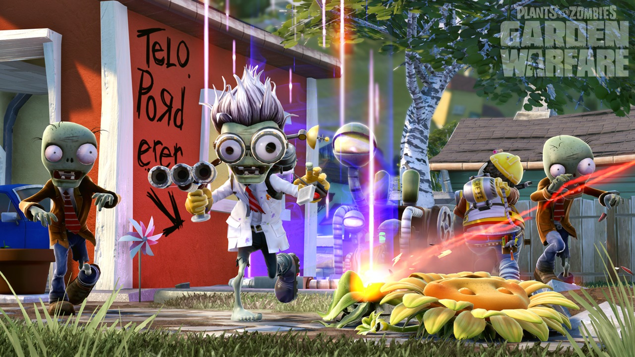 Plants Vs Zombies Garden Warfare Test Xbox One Insert Coin