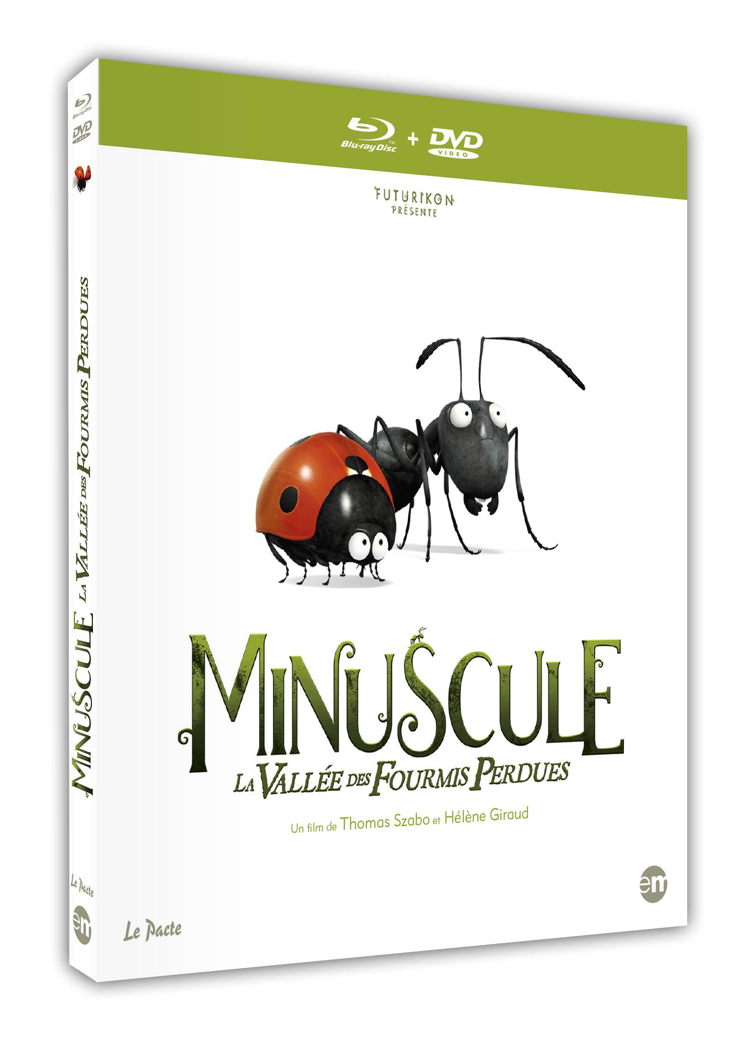 Minuscule La Vall 201 E Des Fourmis Perdues Test Blu Ray