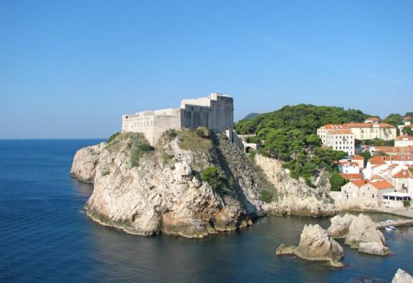 Croatie-Dubrovnik-Fort-Lovrijenac