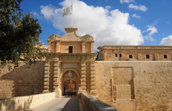 Malta-Mdina-Port-de-la-Ville