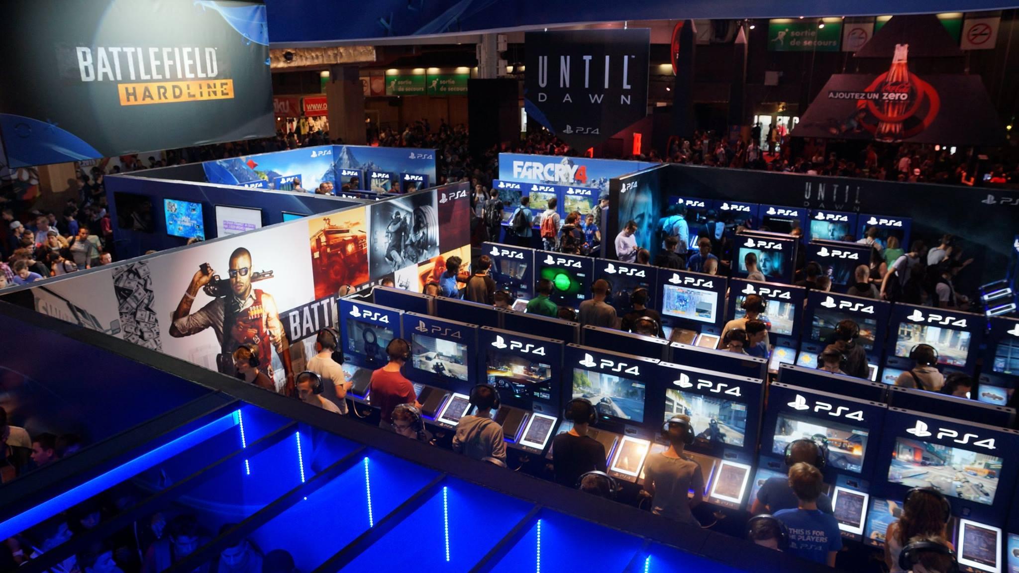Paris games week 14 notre bilan insert coin for Salon paris games week
