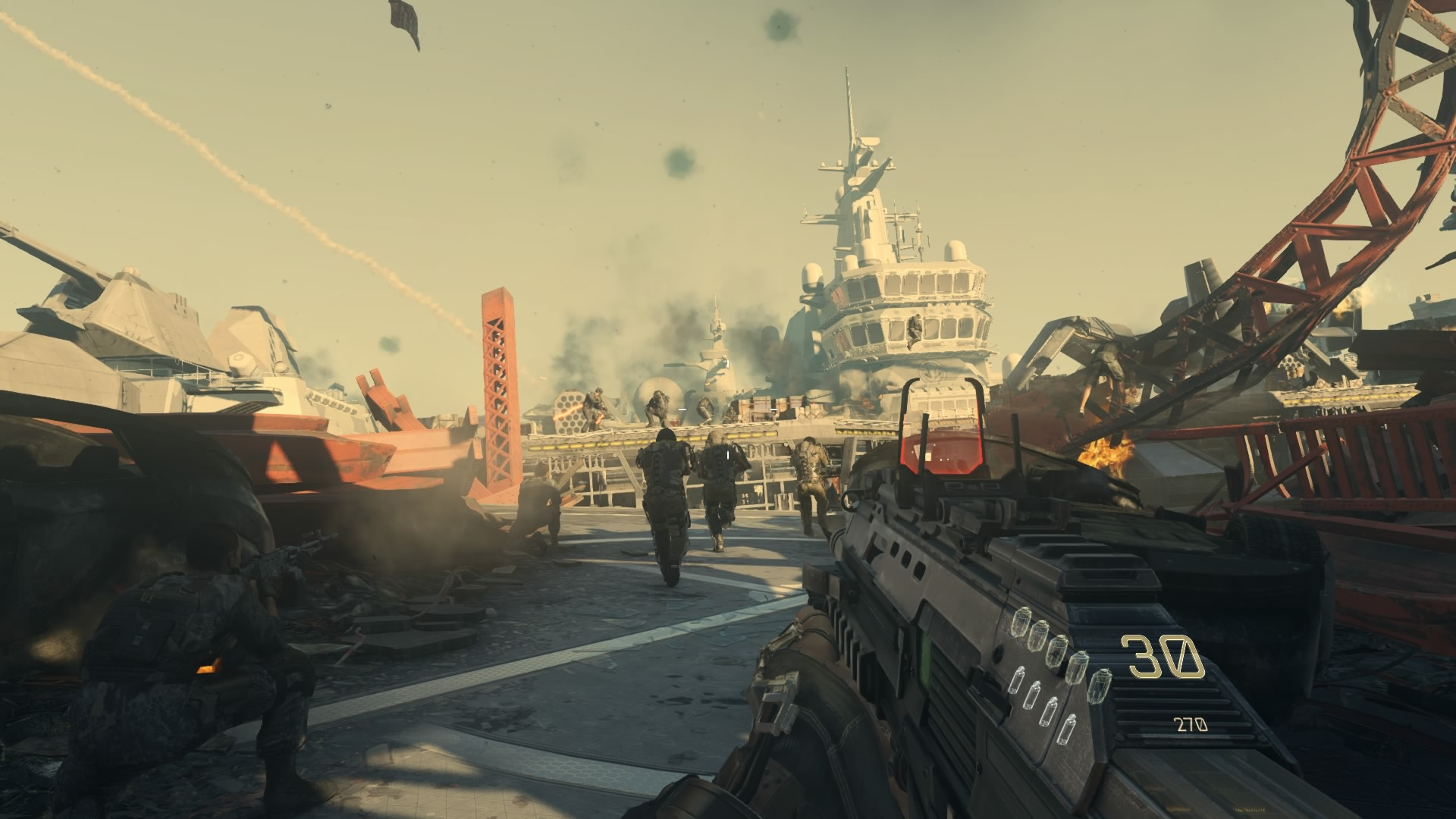 how to play call of duty advanced warfare ps4