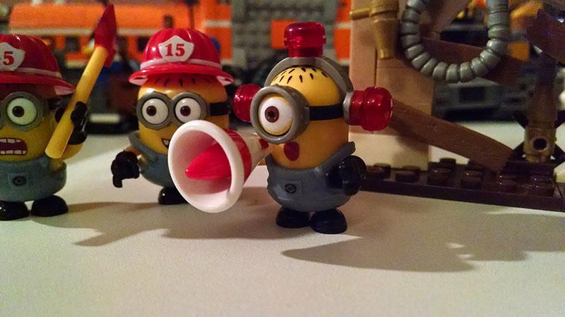 Mega bloks minions insert coin - Minion pompier ...