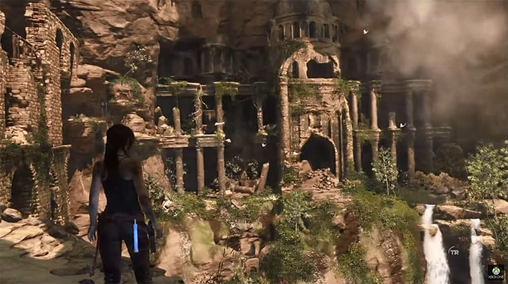 Rise of the tomb raider gameplay en syrie insert coin for Bureau 13 gameplay
