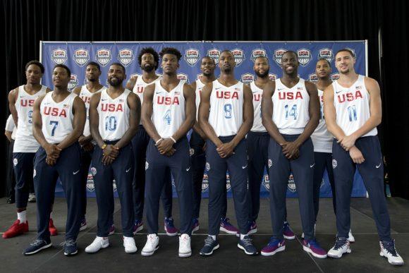 NBA2K17 inclut Team USA