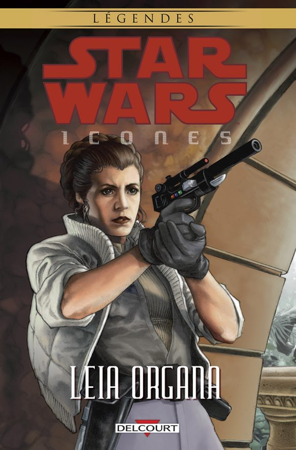 Delcourt-Star-Wars-Icones-Leia Organa