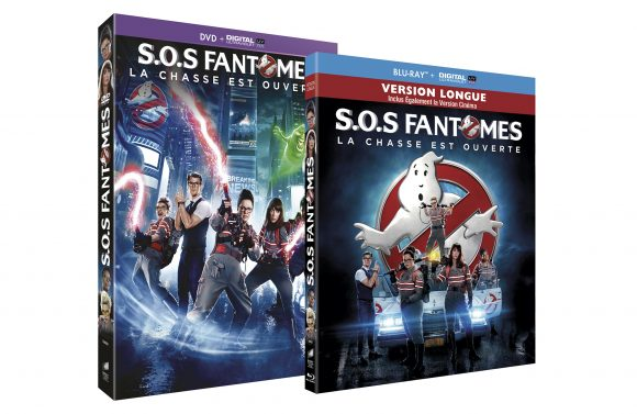 Sos fantomes DVD