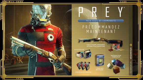 Prey_PreOrder_Pack Fusil De Cosmonaute