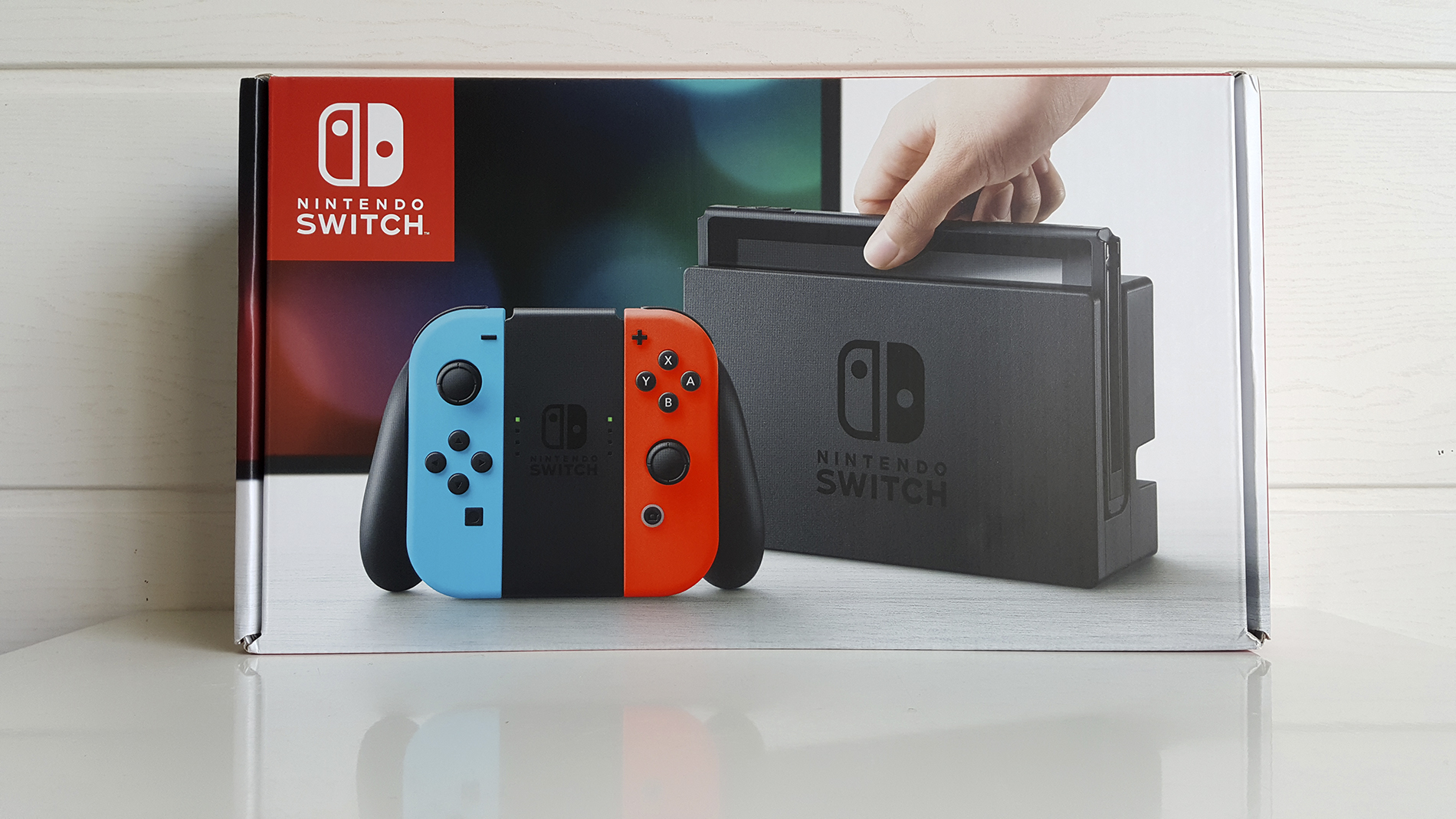 Nintendo Switch Unboxing Insert Coin