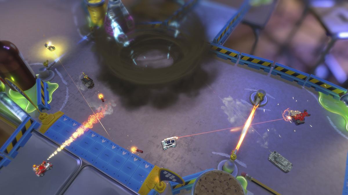 Petites mais rapides — Micro Machines