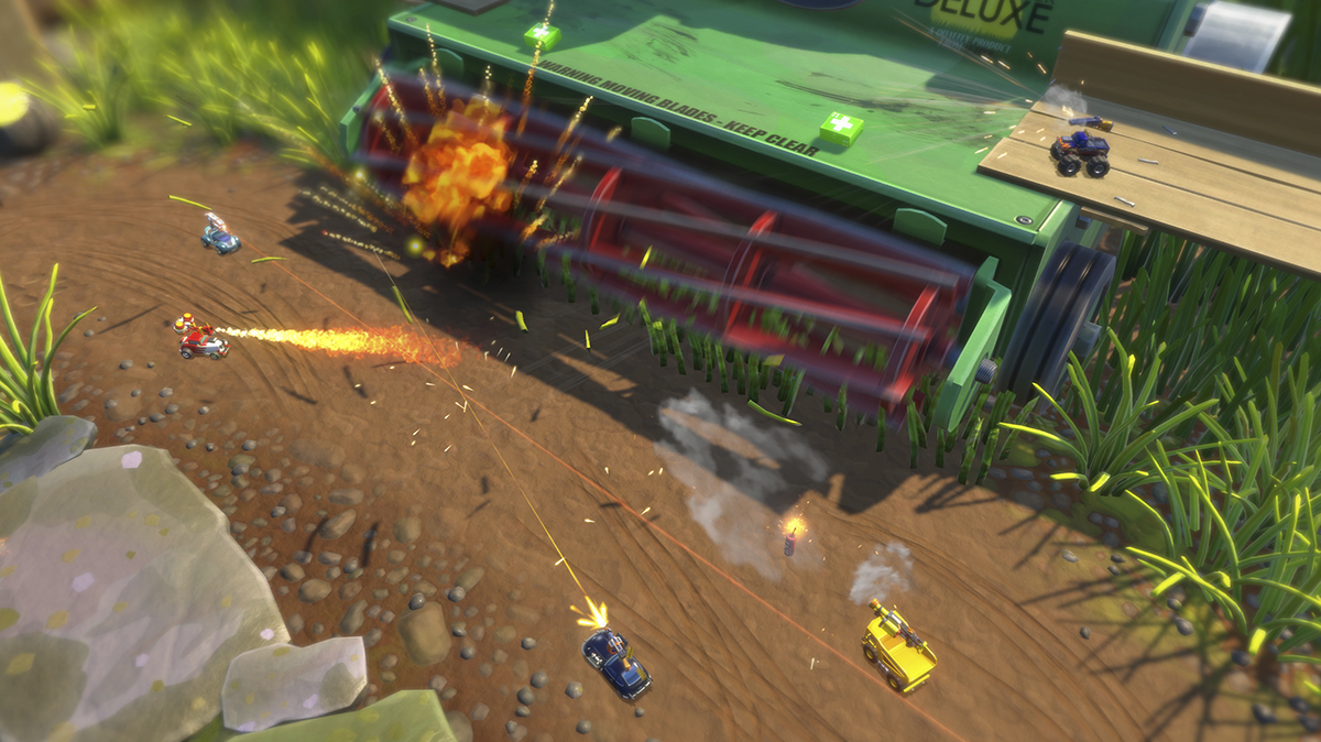 Micro Machines World Series en vidéo