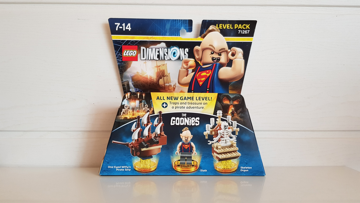 lego dimensions les goonies test ps4 insert coin. Black Bedroom Furniture Sets. Home Design Ideas