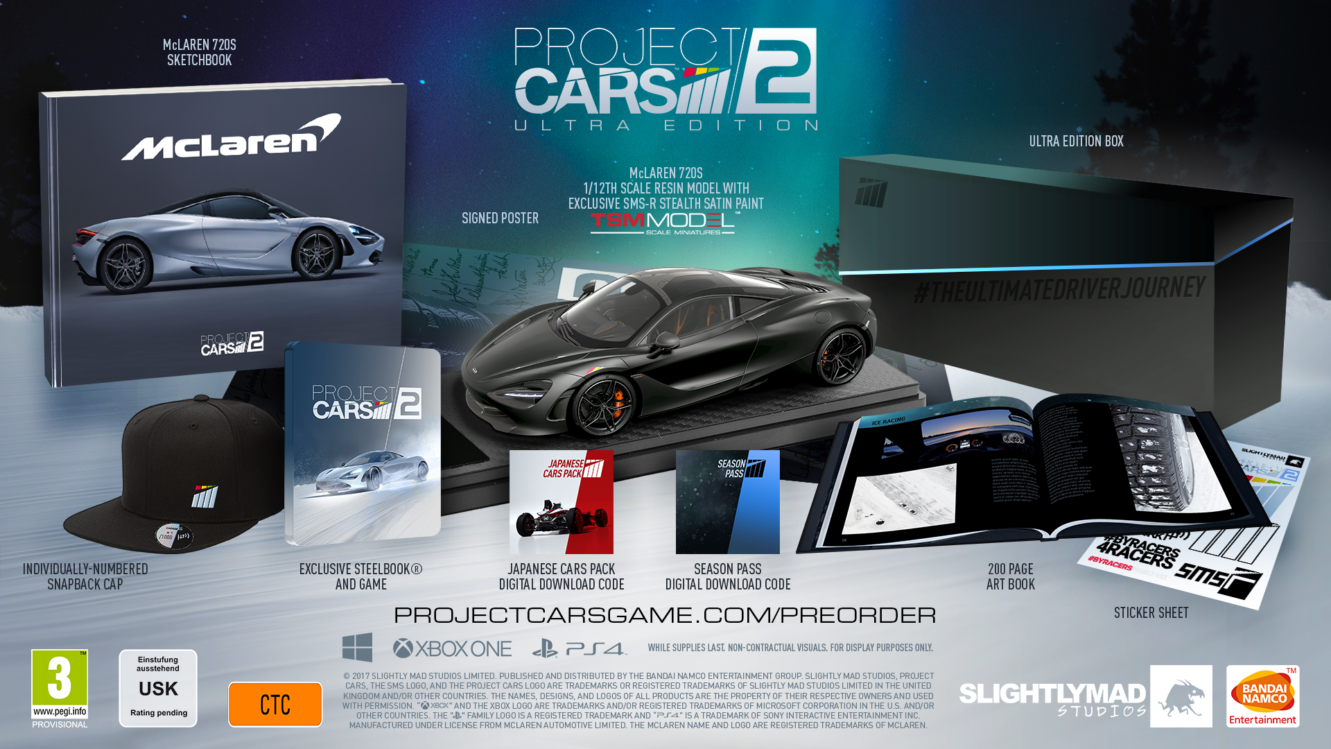 Project Cars 2 : un point sur les éditions collectors
