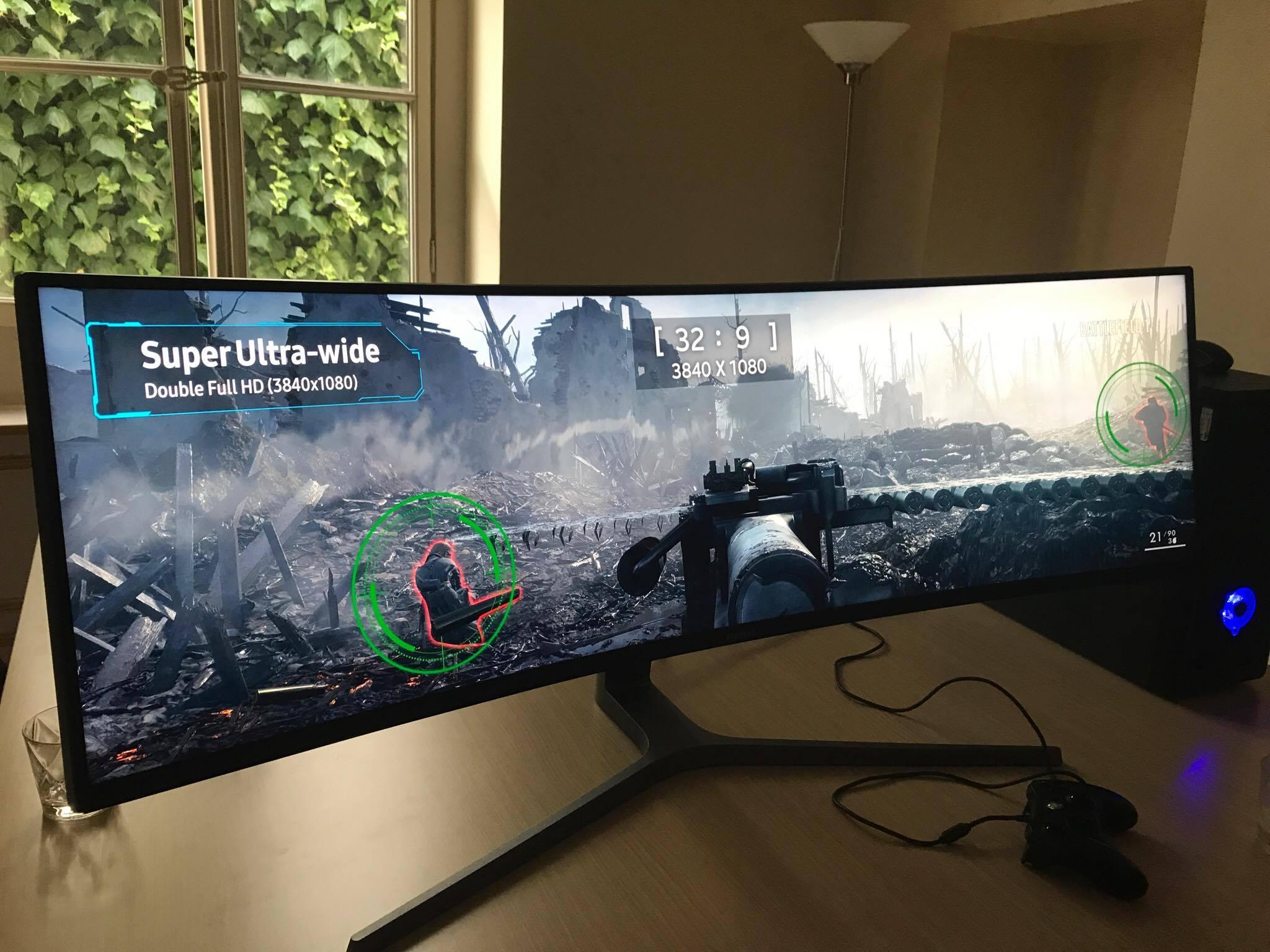 Samsung un moniteur gaming hors normes insert coin for Ecran pc pour graphiste