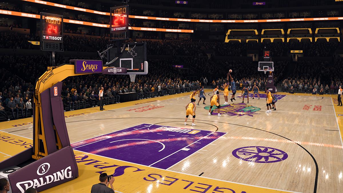 La WNBA arrive dans NBA Live 18