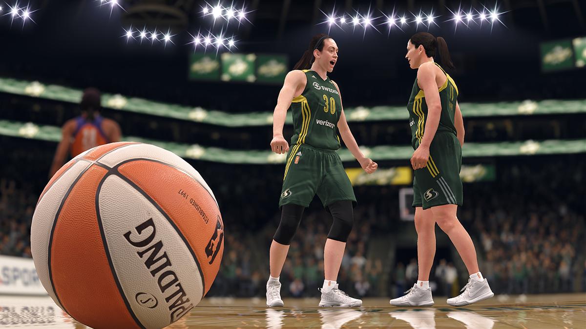 Arrivée du Basket féminin WNBA
