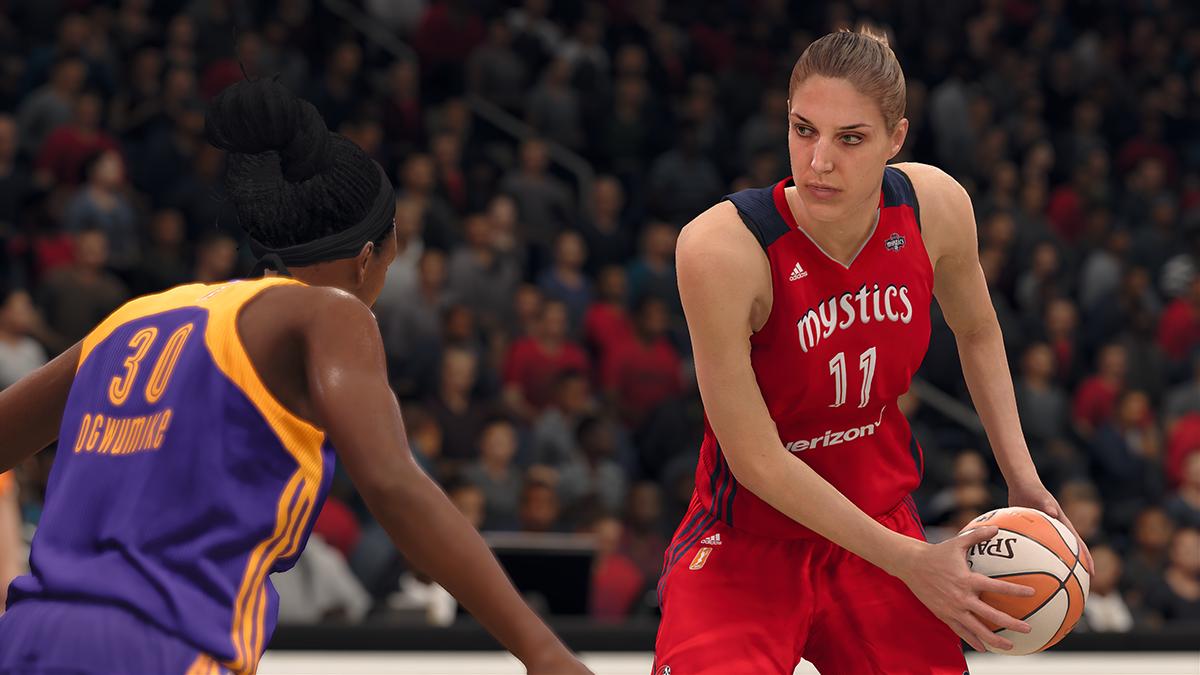 Les filles mettent la main au panier dans NBA Live 18