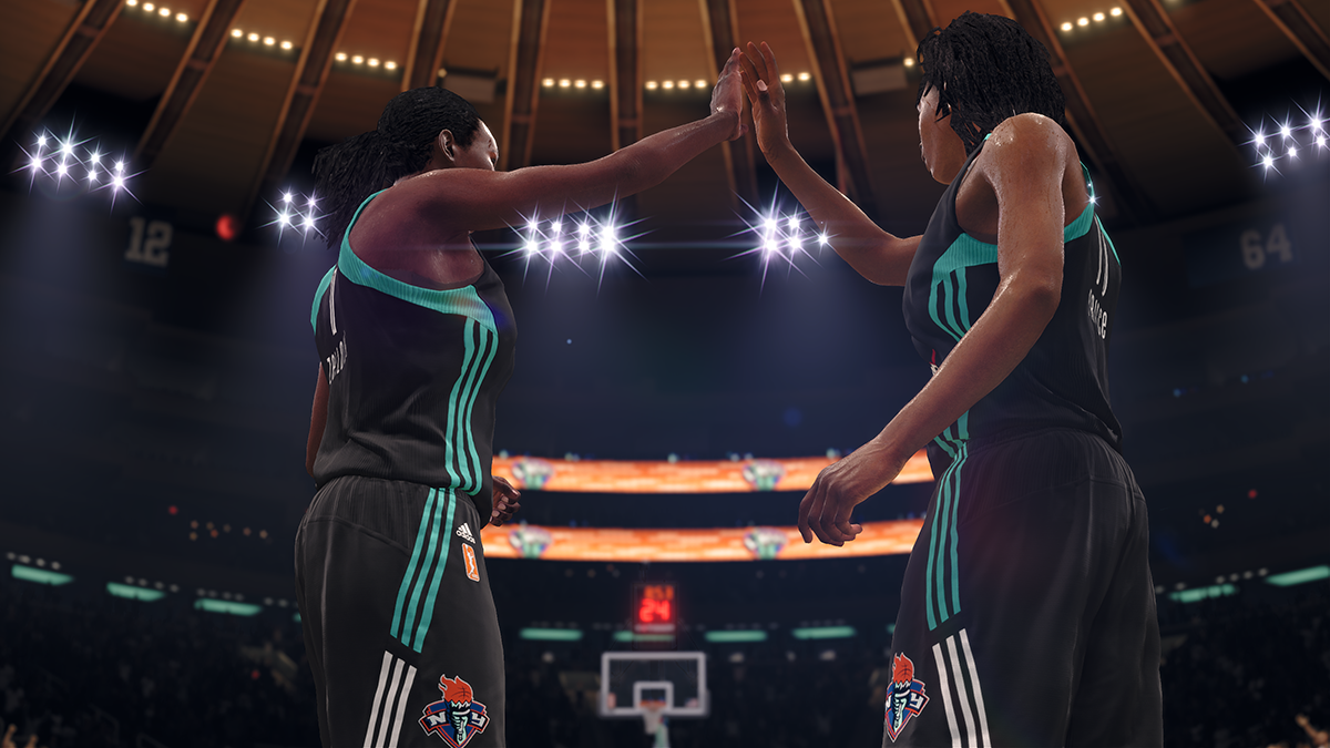 La WNBA sera dans NBA Live 18