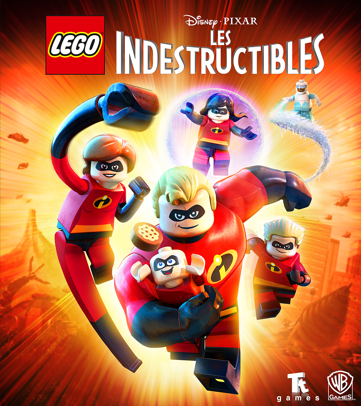 Les Indestructibles officialisé — Lego