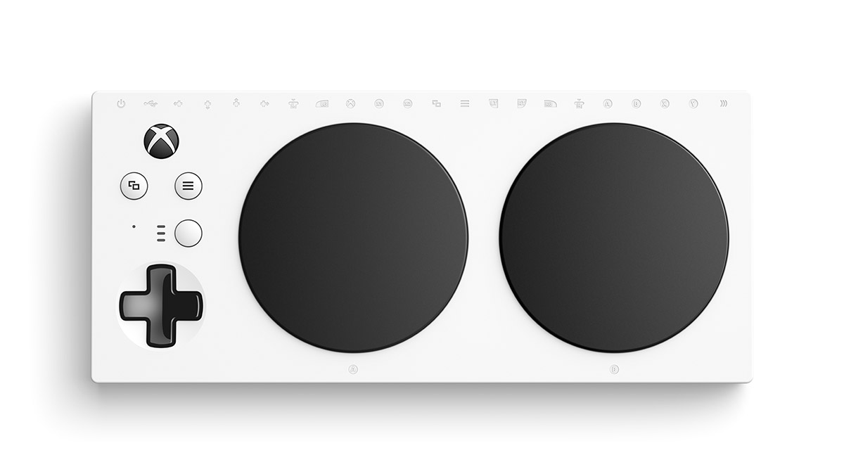 #TousGamer - Microsoft dévoile le Xbox Adaptive Controller pour les personnes à mobilité réduite