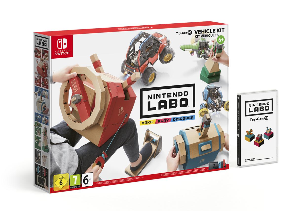 [MAJ] Nintendo annonce Nintendo Labo - Toy-Con 3 : Vehicle Kit / Date européenne