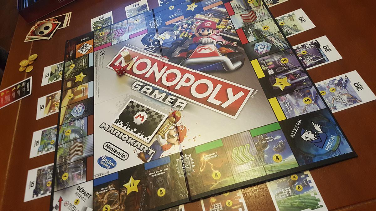 monopoly gamer mario kart test insert coin. Black Bedroom Furniture Sets. Home Design Ideas