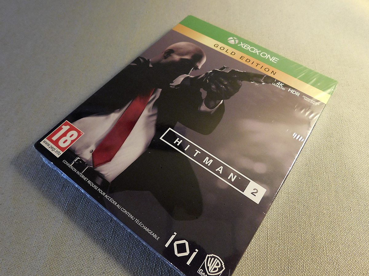 Unboxing Hitman 2 Collectorpress Kit Insert Coin