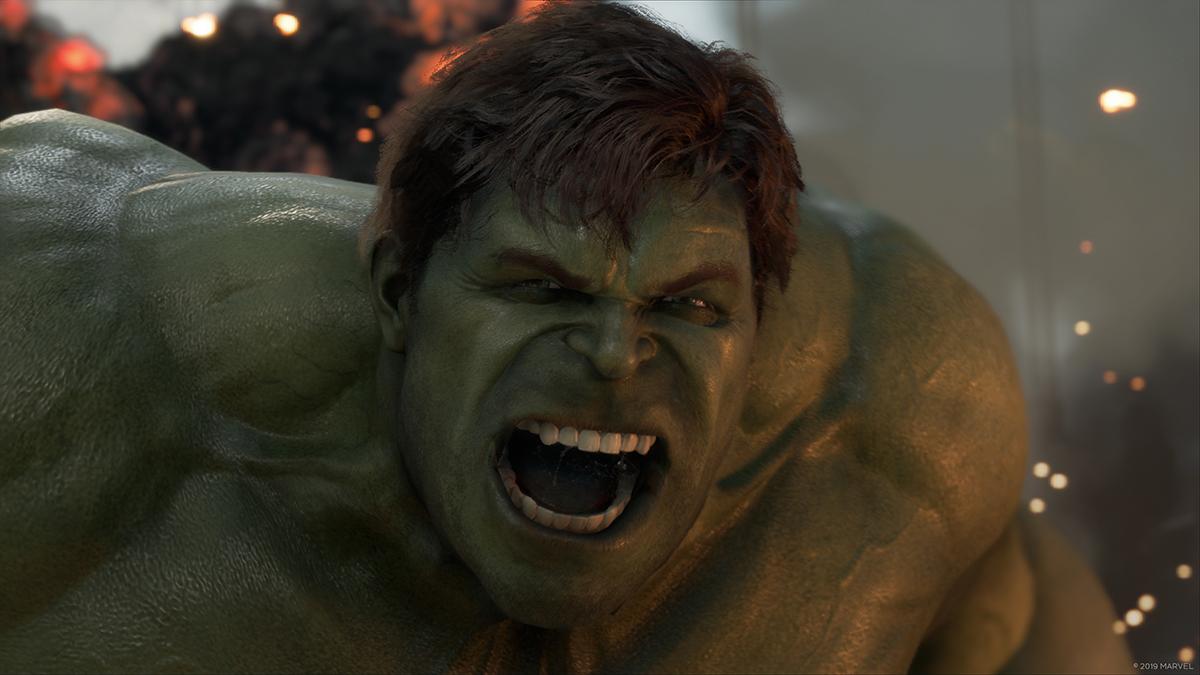 Un média de gameplay s'échappe de Köln — Marvel's Avengers