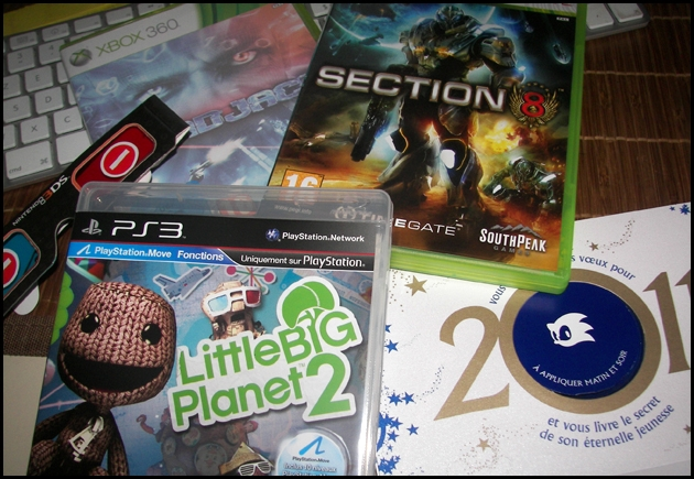 ps3,playstation,lbp,lbp2,sackboy,mindjack,xbox,sonic,sega,3DS,nintendo,goodies