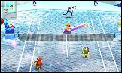 3DS,nintendo,Mario,Tennis
