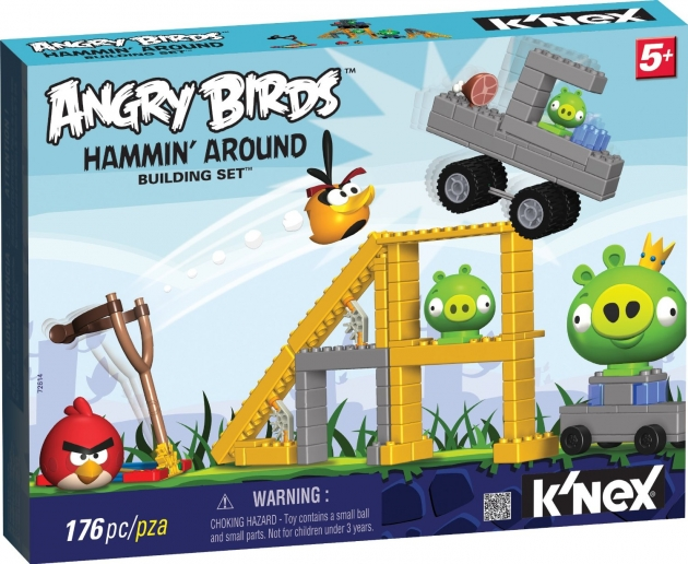 angry birds,knex