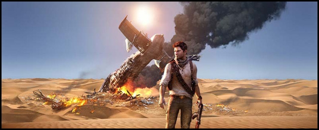 allociné,uncharted,nathan,drake,arabie,lawrence,jordanie,trésor,playstation,PS3