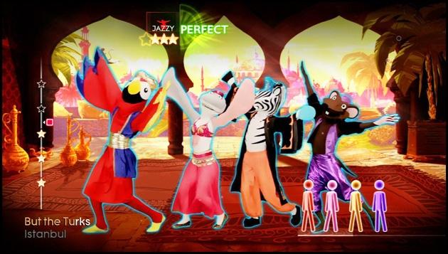 just dance 4,ubisoft,dance,danse,kinect