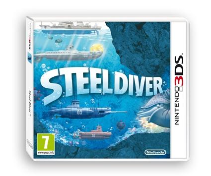 steeldiver,3DS,ds,nintendo,sous-marin,profondeurs,mer,ocean